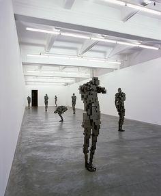by antony gormley Antony Gormley Sculptures, Plastic Art, 3d Max, Sculpture Art, Abstract Sculpture, Land Art, Installation Art, Contemporary Art, Street Art