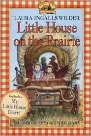 Who doesn't love this series?  I vividly remember sitting up late at night over Thanksgiving Break in second grade on the cot in my dad's office (grandparents took over my room) reading On the Banks of Plum Creek.  Ah!  I just love these books!