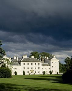 The west front of Saltram