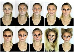 Foxy Makeup Steps / c. Katie Nash