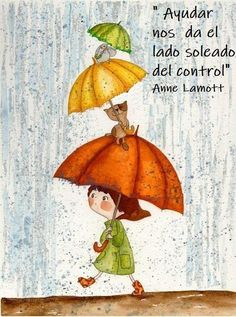 I love rain ! Art And Illustration, I Love Rain, Umbrella Art, Umbrella Cartoon, Walking In The Rain, Whimsical Art, Rainy Days, Cat Art, Illustrators