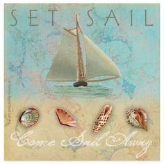 Buy Thirstystone® Coastal Sail Away Coaster from Bed Bath & Beyond