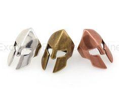 High Crown Spartan Warrior HelmetAntique Style Paracord | Etsy Warrior Helmet, Spartan Warrior, Paracord Bracelets, Beaded Bracelets, Gladiator Helmet, Roman Warriors, Antique Silver, Buy And Sell, Bronze