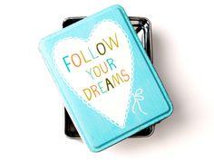 Plåtburk Follow Your Dreams - Sass & Belle - RumAttÄlska.se