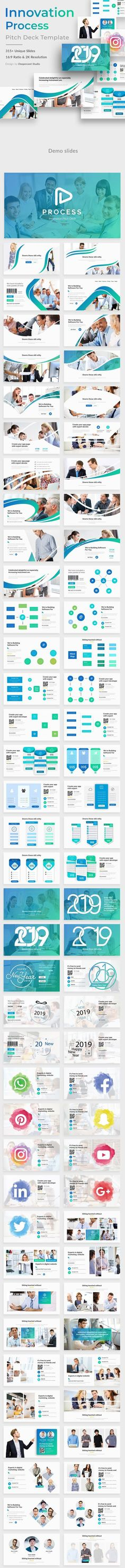 Buy Innovation Process Pitch Deck Keynote Template by onepercent on GraphicRiver. General Features well designed slides Easy customizable contents Modern, clean style Editable Icons as Vector s. Marketing Presentation, Corporate Presentation, Presentation Design Template, Ppt Design, Design Templates, Flow Chart Template, Keynote Template, Creative Powerpoint Templates, Innovation