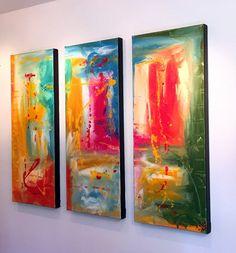 "'Beautiful Spring ' - 36"" X 30"" Original Art."