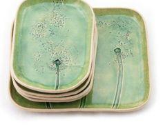 Plato de cerámica para plato de galletas o frutas por DekoryNati