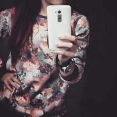 Flower Selfie  Fashion!