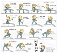 Dean- Eye of the Tiger