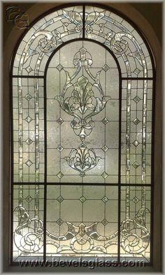 Ideas bathroom window stained glass master bath for 2019 Stained Glass Door, Leaded Glass Windows, Stained Glass Designs, Stained Glass Patterns, Glass Panels, Window Glass, Leadlight Windows, Rose Window, Window Art