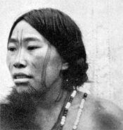 Chukchi woman with fertility, chin, and nose markings. After Cantwell (1902: 212).