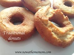 Homemade Traditional deep-fried donuts