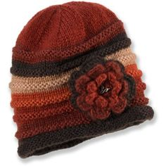 prAna Pixie Flower Beanie - cozy & warm