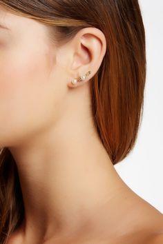 Rosalie Crawler & Stud Earrings Set