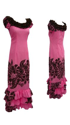 Pink long muumuu