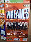 For Sale - 2003 - 2004 DETROIT PISTONS NBA CHAMPIONS WHEATIES BOX