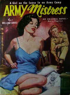 Croydon Books # 31 - Army Mistress - William David - Artwork by Lou Marchetti - 1953