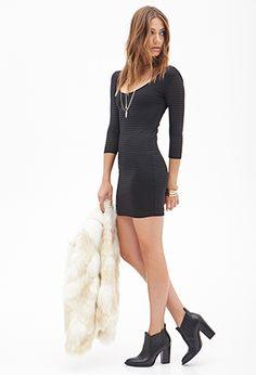 Striped Mini Dress | Forever21 - 2000102893