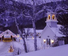 CHRISTMAS EVE - Country Christmas, Stark, New Hampshire - kruhme @ flickr - Pixdaus