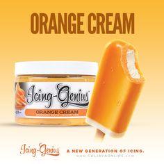 Paired Pack - Orange Cream Icing Genius, CMC, & FREE 2lb FondX
