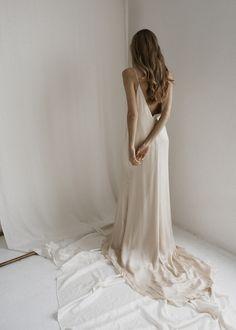 9d34a1a2deda 7 Best Slip wedding dress images | Lace, Party Dress, Bridal gowns