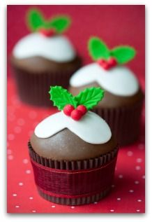 Christmas cupcakes #holidayentertaining