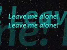 Michael Jackson - Leave me alone Lyrics