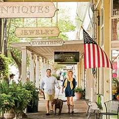 """Fredericksburg, Texas featured in Southern Living as a """"Small Town We Love"""" in June 2014. #visitfredtx #fbgtx"""