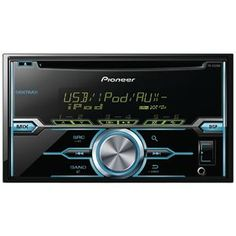 Picture of Pioneer Doubledin Indash Cd Receiver With Mixtrax Usb Pandora Ready Android Music Support  Color Customization