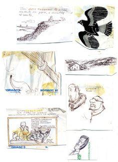 My work in the pharmacy Sketcher Riccardo Giunti sketchbook summer 2002. #riccardogiunti