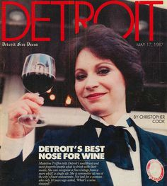 Madeline Triffon tasted her way to the top of the exclusive world of wine and fine dining.