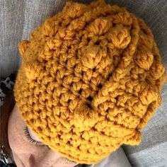A personal favorite from my Etsy shop https://www.etsy.com/listing/243737582/yellow-bobble-hat