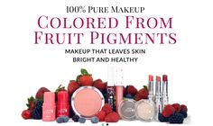 Raw Organic Makeup & Other Fruit Makeup Options -  Did you know that raw organic makeup was even an option for your makeup needs? I recently came across a video by vegan health guru Megan Elizabeth where she shares her makeup routine. As you can see in the video above, Megan Elizabeth doesn't use traditional makeup on her face but chooses... http://organicfooddaily.com/raw-organic-makeup-fruit-makeup-options/