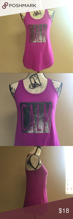 071414cf4196 Athletic Works Purple  Calm  tank top Shirt XS