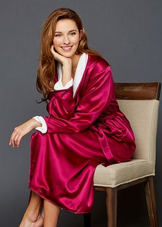Our best selling robe can be work 3 different ways. All of which are  luxurious 0e76f1d37