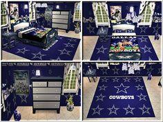 Dallas Cowboys ultimate bedroom