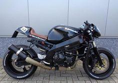 Kawasaki ZX9R caferacer Custom Street Bikes, Custom Motorcycles, Motorcycles For Sale, Custom Bikes, Kawasaki Zx9r, Kawasaki Ninja, Custom Cafe Racer, Cafe Racer Build, Cafe Racer Honda