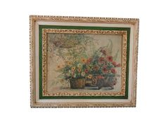 Vintage Homco Home Interiors Ornate Frame by dabubblegumgirl