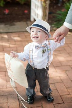 Cutest little ring bearer | Photo by Mikkel Paige