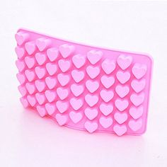 55 Silicone Mini Heart Cake Mold Chocolate Cookies Baking Mould Soap Mold *** Continue to the product at the image link.(This is an Amazon affiliate link)