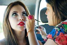 Maquillando ando - makeup time