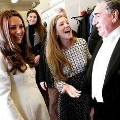 Royal laugh