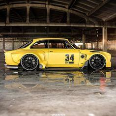 Motocross Gear, Yellow Car, Alfa Romeo Giulia, Ford Classic Cars, Sweet Cars, Car Tuning, Modified Cars, Hot Cars, Custom Cars
