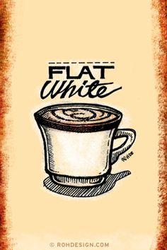 Flat White #coffee