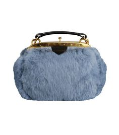 A.Nordin Ticket Fur Cloud Blue Bag Fur Bag bb089a90a4b52