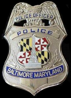 Police Officer Badge | Baltimore City Police Badge