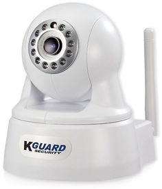 KGuard Security QRT-303 720p Infrared Night Vision Wireless Network Camera W/Pan: Get it for $34.95 (was $99.99) #coupons #discounts