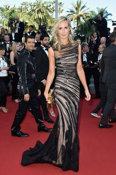 Lady Victoria Hervery, de Jean Fares Couture - Cannes 2015