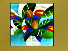 Stained Glass window by NUZ #Art #Artist at Betsy Frank Gallery