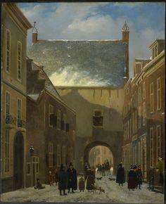 De Gevangenpoort te Den Haag - Drift, Johannes Adrianus van der